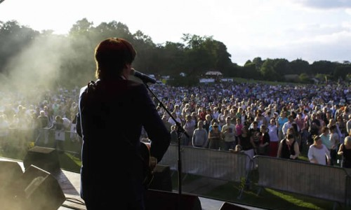 The Beatles Tribute band 2 Picnic to music in The Park Farnborough