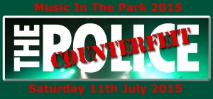 Music in The park Farnborough 2015